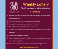 Change to the Weekly Lottery