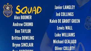 Southern United Youth Squad is announced!