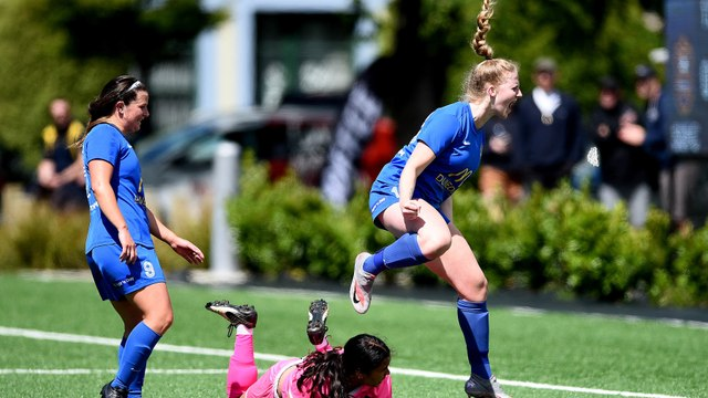 Southern United Women with the win, ending forth place
