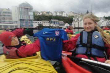 Kayaking in Norway!