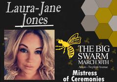 Laura-Jane Jones announced as MC for Big Swarm