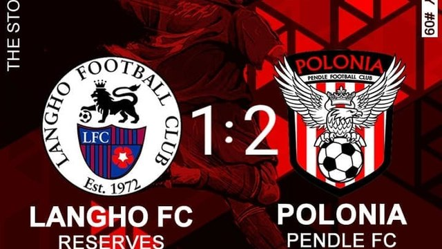 Langho Reserves - Polonia Pendle FC