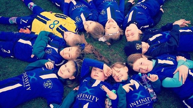 Under 9 Lions Girls