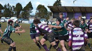 U14's v Sidmouth