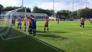 Bury Town exit FA cup against ten-man Histon