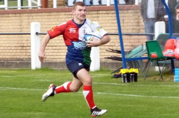 James Moorby completes his debut hat-trick