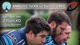 Senior Rugby Saturday 19th January
