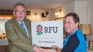 Bakewell Mannerians RUFC Gain RFU Accreditation