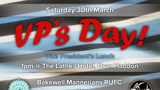 Vice President's Day Saturday 30th March