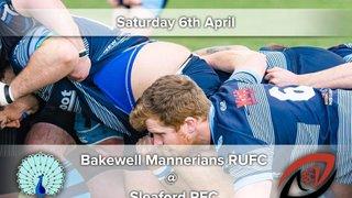 Senior Rugby Saturday 6th April