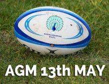 AGM - Monday 13th May