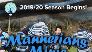 Bakewell Mannerians Minis 2019/20