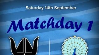 Senior Rugby Saturday 14th September