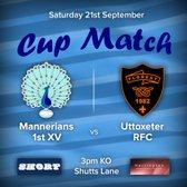 Senior Rugby Saturday 21st September