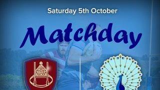 Senior Rugby Saturday 5th October