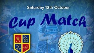 Senior Rugby Saturday 12th October