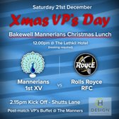 Christmas VP's Day Rugby - 21st December