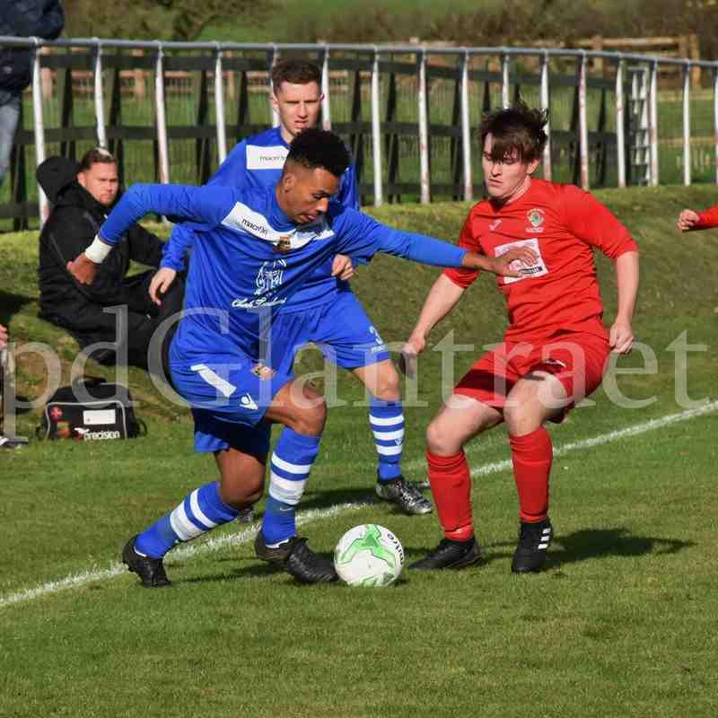 CPD Glantraeth FC v Chirk AAA FAW Trophy Round 3
