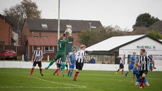 League - Congleton 0 Ashton Athletic 0 - 7/10/17 - Match Abandoned