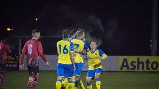 League - Ashton Athletic 3 Abbey Hey 0 - 16/12/17