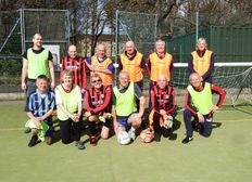 The Shelley FC walking football group