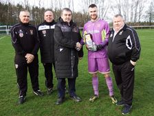 Paul Day League Goalkeeper of the month
