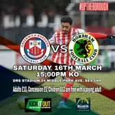 Come down and support the boys this Saturday