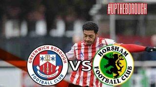 Greenwich Borough FC vs Horsham FC