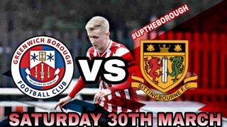 Greenwich Borough FC vs Sittingbourne FC