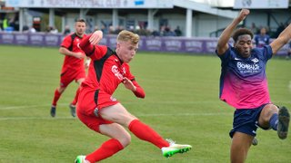 Corby match report link, stats and images