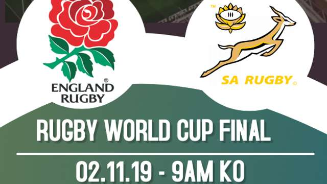 RUGBY WORLD CUP FINAL LIVE AT WCC
