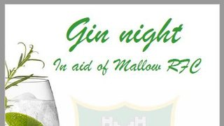 Gin Night in aid of Mallow RFC