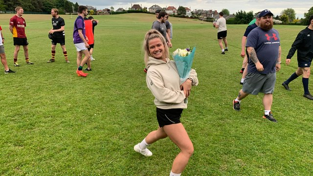 Grace Tonner - our nominee for Scottish Rugbys Young Person's Award