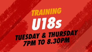 U18s Training