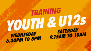 Youth and U12s Training
