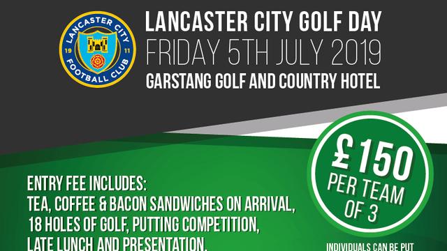 Lancaster City Golf Day - July 5
