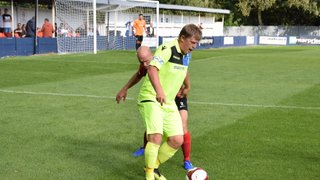 Diskin and Malbon score for the Grove as they win at Market Drayton Town