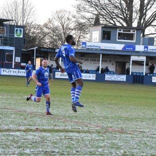 Wiggins-Thomas scores twice as Grove beat Ilkeston 4-1
