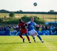 Championship side Peterborough United came to town on Tuesday night
