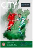 Chichester City vs Worthing FC Matchday Programme