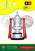 Erith Town FC FA Cup Matchday Programme