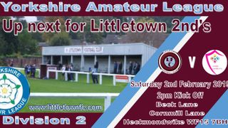 Next up for the 2nd Team