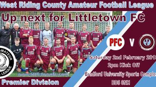 Next Game for the First Team