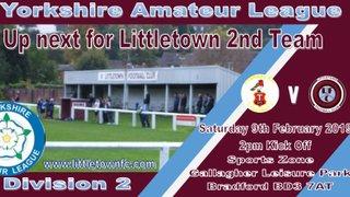 Littletowns 2nd Team away against Tyersal
