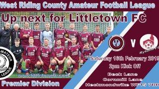 Littletown First Team at home