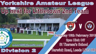 Littletown's Second Team away at Trinity