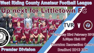 Littletown Away in Crucial Game