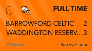Another good win for quality reserves side!