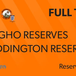 Reserves throw game away at a blustery Langho!