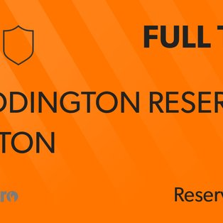 Reserves fire blanks in Hapton stalemate!